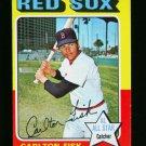 1975 TOPPS MINI #80 CARLTON FISK RED SOX  EX-MT