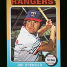 1975 TOPPS MINI #387 JIM SPENCER NM