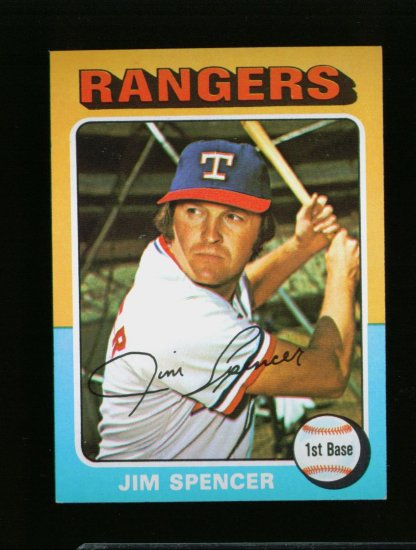1975 TOPPS MINI #387 JIM SPENCER NM