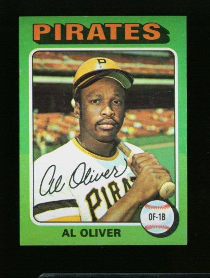 1975 TOPPS MINI #555 AL OLIVER PIRATES NM