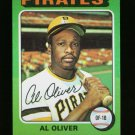 1975 TOPPS MINI #555 AL OLIVER PIRATES NM