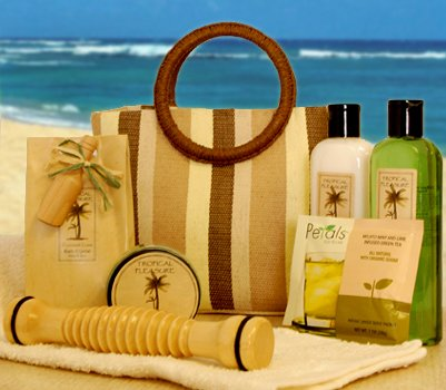 Tropical Spa with Tote bag