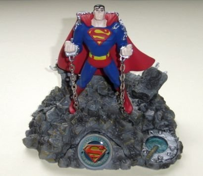 NEW Justice League SUPERMAN Paperweight Figure Comic Con FREE Shipping