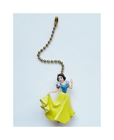 Disney Princess Snow White Figure Ceiling Fan Light Lamp Pull FREE Shipping