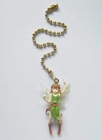 NEW Disney Fairies BECK Figure Ceiling Fan Light Lamp Pull Tinkerbell FREE Shipping