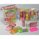 New 10 Candy Box Scented Eraser Set Lemon Co FREE Shipping