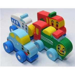 New 4 Cars Wheels Japanese  Eraser Set #1 Lemon Co FREE Shipping