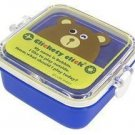 New Blue Iwako Japan Eraser Collection Bento Box Bear FREE Shipping