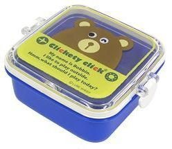 New Blue Iwako Japan Eraser Collection Bento Box Bear FREE Shipping