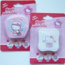 2 NEW Hello Kitty MAGIC WASHCLOTHS Towel Bath Set Basic Fun