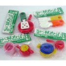 NEW Kitchen and Utensil Japanese Erasers - 8Pc IWAKO FREE Shipping