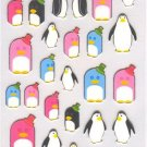 New Iwako Eraser Crystal Stickers - Penguin