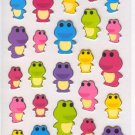 New Iwako Eraser Crystal Stickers - Frog