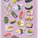 New IWAKO Japanese Eraser Puffy Raised Stickers - Sushi Japan Lifestyle