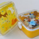 New Forest Animal Locking Lid Square Eraser Collection Bento Box