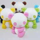 6 NEW Colors Mr Panda Bear Erasers IWAKO Japan