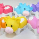 6 NEW Colors Kawaii Cow Erasers IWAKO Japan
