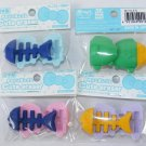 NEW 4 Colors Fish Puzzle Erasers TRC Dream Japan
