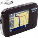 MAXX DIGITAL® 3.5 INCH GPS & PORTABLE MEDIA PLAYER