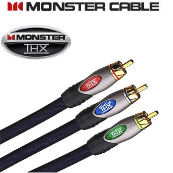 MONSTER CABLE® ULTRA-HIGH PERFORMANCE COMPONENT VIDEO CABLE