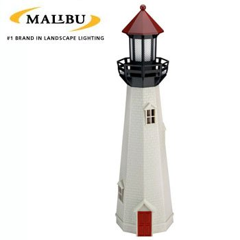 MALIBU® NATURAL ACCENT OUTDOOR LIGHTHOUSE