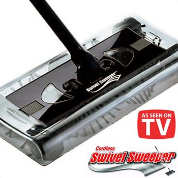SWIVEL SWEEPER� ALL SURFACE CORDLESS SWEEPER