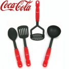 COCA-COLA® 4-PIECE KITCHEN CULINARY UTENSIL SET