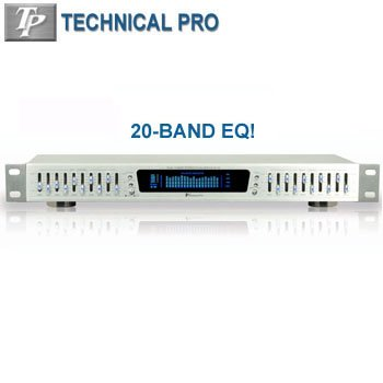 TECHNICAL PRO® PROFESSIONAL EQUALIZER WITH DIGITAL SPECTRUM