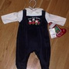 "Brand new with tags Bright Future outfit ""Baby's First Christmas"""