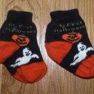 My first Halloween socks