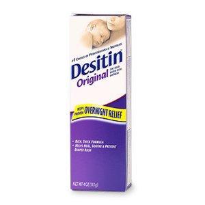 Desitin Diaper Rash Ointment, Hypoallergenic 4 oz (113 g)