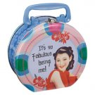 It's so fabulous being me! metal lunchbox