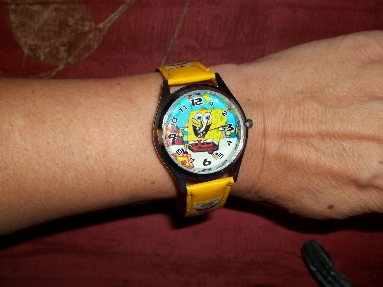REDUCED: Sponge Bob watch