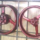 2003-2004 Honda CBR 600 RR Rear & Front Wheels