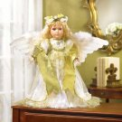 PORCELAIN ANGEL DOLL