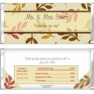 Fall Springs Chocolate wrapper favors