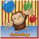 Curious George Dessert/Beverage Napkins