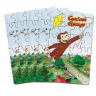 Curious George Puzzles 4ct