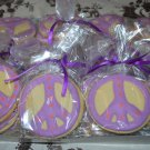 Peace Sign Cookies