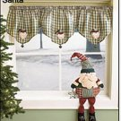 SANTA MANTEL PIECE OR SHELF SITTER