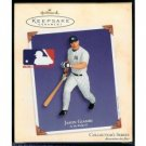 JASON GIAMBI YANKEES HALLMARK CHRISTMAS ORNAMENT
