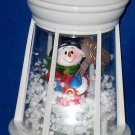 Lighted Snow-Blowing Lantern-SNOWMAN