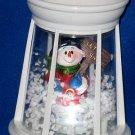 Lighted Snow-Blowing Lantern-SNOWMAN