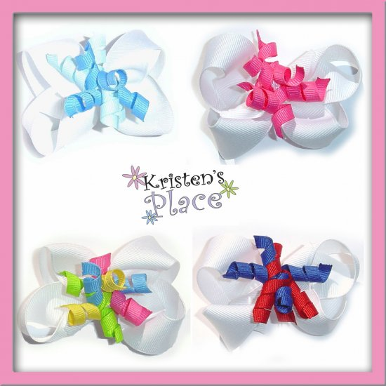 Boutique Korker Layer Bow - U Choose - No Slip Grip Available
