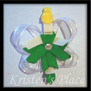 Princess Hair Clip - Fairy Hair Clip - Boutique Princess / Fairy Character Bow