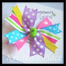 Boutique Spiky Bow - Mulit-Colored Bows - Perfect Summer Bow