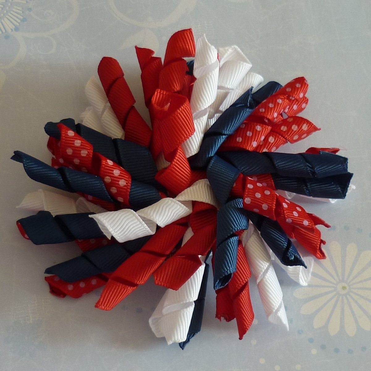 Boutique Hair Bow - Korker - 4th of July