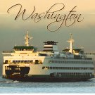Washington Ferry Postcard
