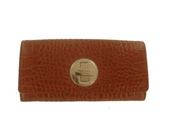 Kate Spade New York Carlsbad Clutch Camel/Tan Leather Wallet
