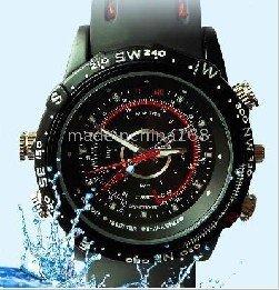 Free shipping 32GB 100% New spy hidden  Advanced Waterproof camera watches